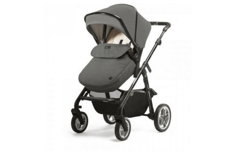 Silver Cross WayFarer Bebek Arabası Çaprazdan Görünüm