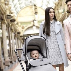 Silver Cross WayFarer Bebek Arabası İçinde Yolculuk Eden Bebek Görseli